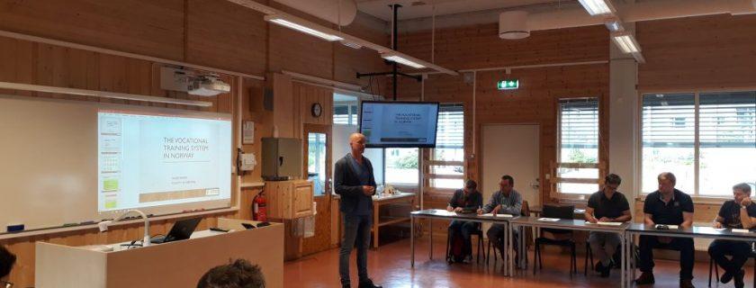 Nadnárodné projektové stretnutie v Nórsku